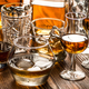 Varous glasses of whiskey on a table - PhotoDune Item for Sale