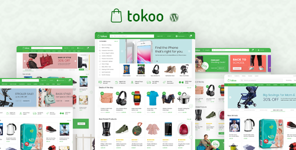 Image of Tokoo - Electronics Store WooCommerce Theme for Affiliates, Dropship and Multi-vendor Websites