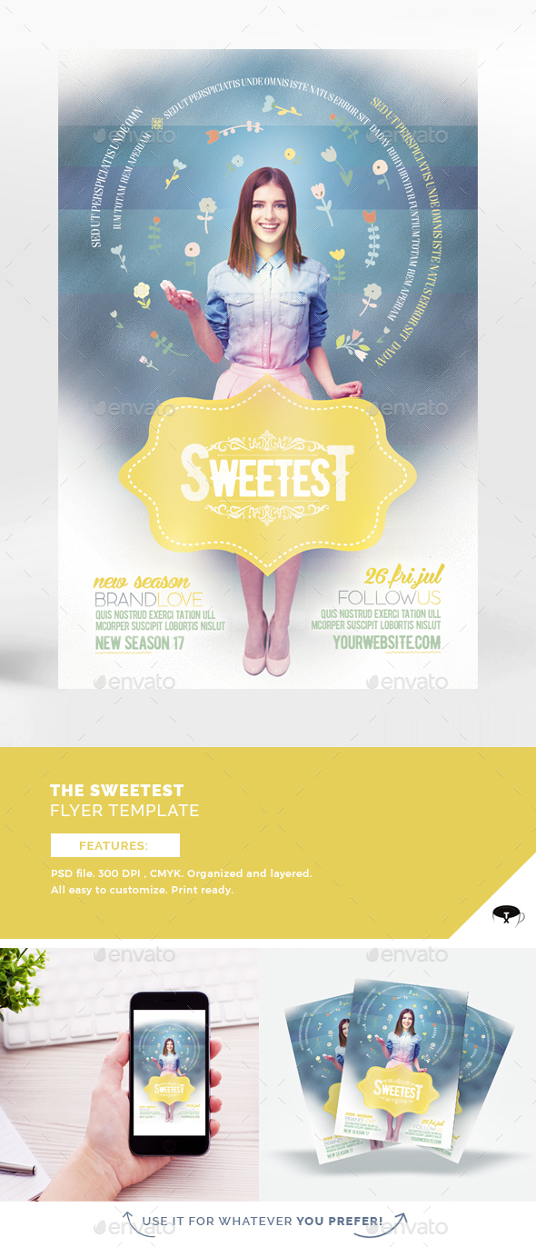 The Sweetest Flyer Template - Events Flyers
