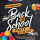 Back To School Party Flyer - GraphicRiver Item for Sale