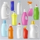 Detergent Bottle Vector Plastic Blank Container