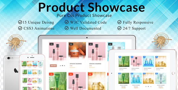Product Grid  and Shop Grid  Pure CSS Showcase - CodeCanyon Item for Sale
