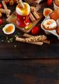 Soft-boiled egg with crisp bread - PhotoDune Item for Sale