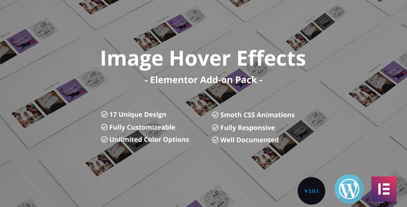 Image /Thumb Hover Effects Collection - Elementor Page Builder            Nulled