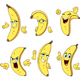 Banana Cartoon Set - GraphicRiver Item for Sale