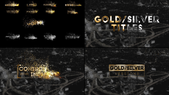 Siêu Vip - Golden Titles for Premiere Pro & After Effects