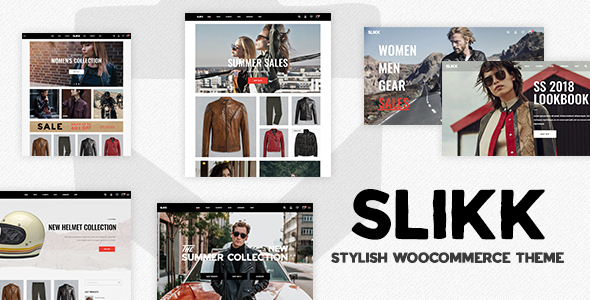 Image of Slikk - A Stylish WooCommerce Theme