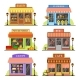 Flat Store Modern Shops - GraphicRiver Item for Sale