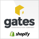 Gates - Multi-Purpose Construction Website Shopify Theme