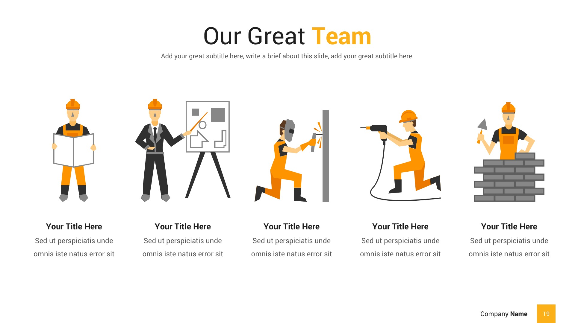 Construction Powerpoint Presentation Template By Spriteit Graphicriver