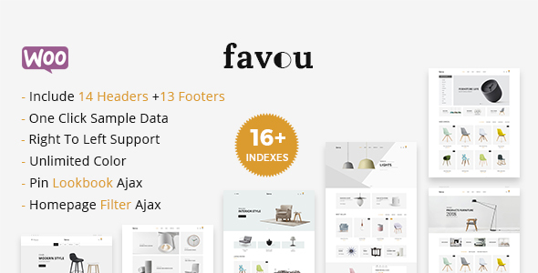 Favou - Minimal and Modern WooCommerce Ajax Theme