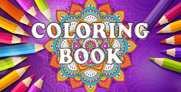 Coloring Book Game-Unity 5.5.2 Project-Premium Graphics-Admob+Unity Ads            Nulled