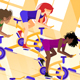Group Workout on Stationary Bike - GraphicRiver Item for Sale
