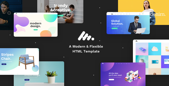 Image of Moody - Modern & Creative Multipurpose HTML Template