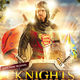 Knights Medieval Middle Ages Themed Flyer - GraphicRiver Item for Sale