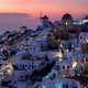 Sunset on Oia in Santorini, Greece - PhotoDune Item for Sale