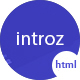 Introz - Training,Coaching Business HTML Template - ThemeForest Item for Sale