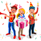 Happy Birthday Background Vector - GraphicRiver Item for Sale