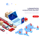 Logistic International Delivery - GraphicRiver Item for Sale