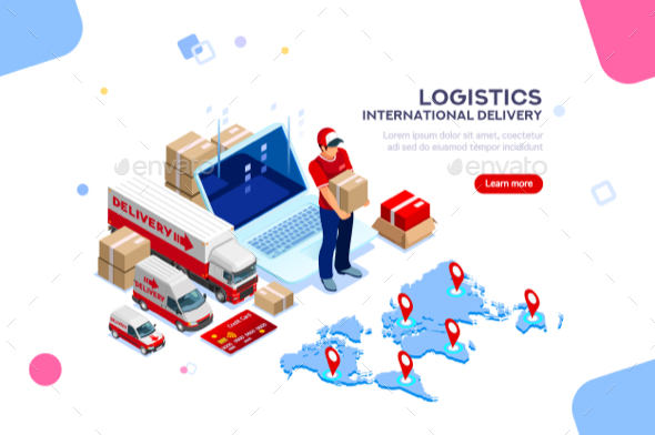 Logistics of International Delivery - Concepts Business