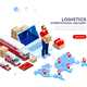 Logistics of International Delivery - GraphicRiver Item for Sale
