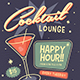 Retro Cocktail Event Flyer - GraphicRiver Item for Sale