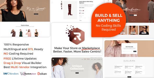 Rigid - WooCommerce Theme for Enhanced Shops and Multi Vendor Marketplaces