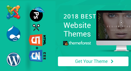 Themeforest 2018 Best Themes