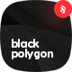 10 Different Black Polygon Backgrounds - GraphicRiver Item for Sale