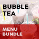 Bubble Tea Menu Print Bundle 2 - GraphicRiver Item for Sale
