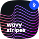 Wavy Stripes Photoshop Brushes