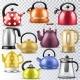 Kettle Vector Teakettle or Teapots