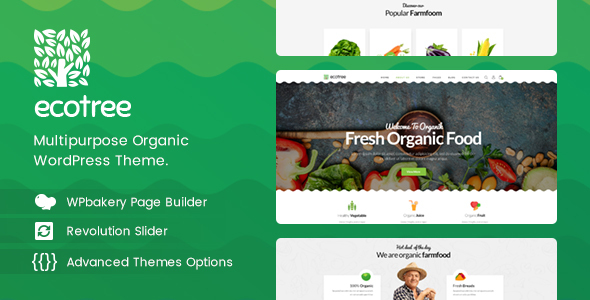 Ecotree - Organic Food WordPress Theme