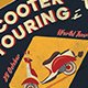 Scooter Tour Flyer - GraphicRiver Item for Sale