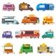 Food Truck Vectors