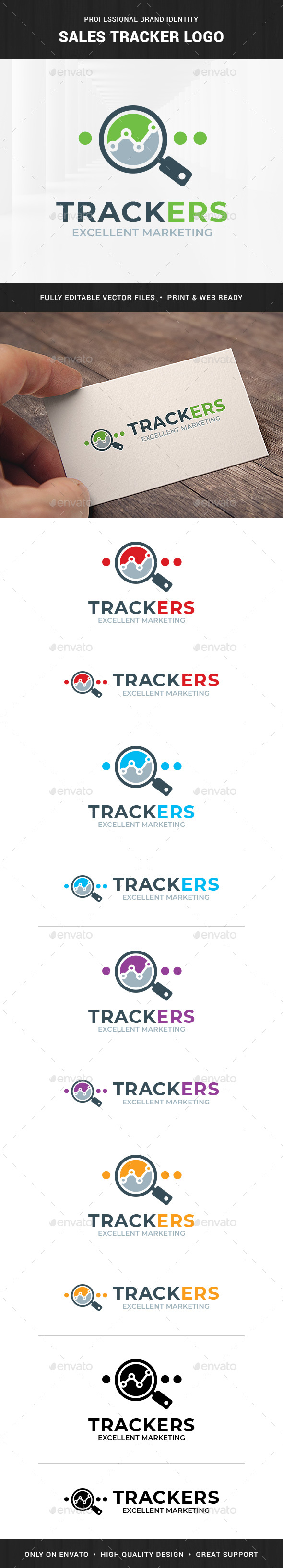 Sales Tracker Logo Template - Objects Logo Templates