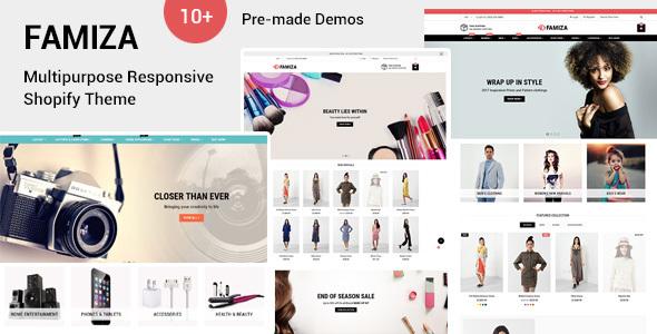 Image of Famiza - Multipurpose Shopify Sections Theme