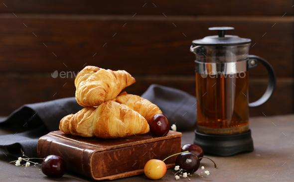 Croissants  - Stock Photo - Images