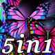 Butterfly Light - VJ Loop Pack (5in1) - VideoHive Item for Sale