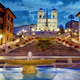 Spanish Steps panorama - PhotoDune Item for Sale
