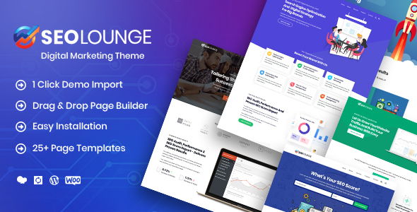 Image of SEOLounge - SEO Agency WordPress Theme