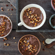 Chocolate pudding with roasted almonds - PhotoDune Item for Sale