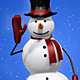 Snowman Waving - Hello Gesture - VideoHive Item for Sale