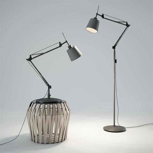 BoConcept Berlin Lamp - 3DOcean Item for Sale