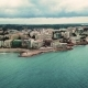 Aerial View of Salou Beach in Winter - VideoHive Item for Sale