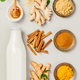 turmeric tea or golden turmeric milk - PhotoDune Item for Sale
