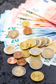 Euro money. Coins and paper banknotes. - PhotoDune Item for Sale