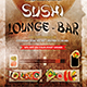 Japanese Sushi Flyer - GraphicRiver Item for Sale