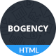 Bogency - Creative Agency HTML Template - ThemeForest Item for Sale