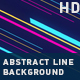 Abstract Line Background - VideoHive Item for Sale